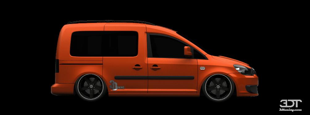 3DTuning of Volkswagen Caddy (facelift) Van 2010 3DTuning ...