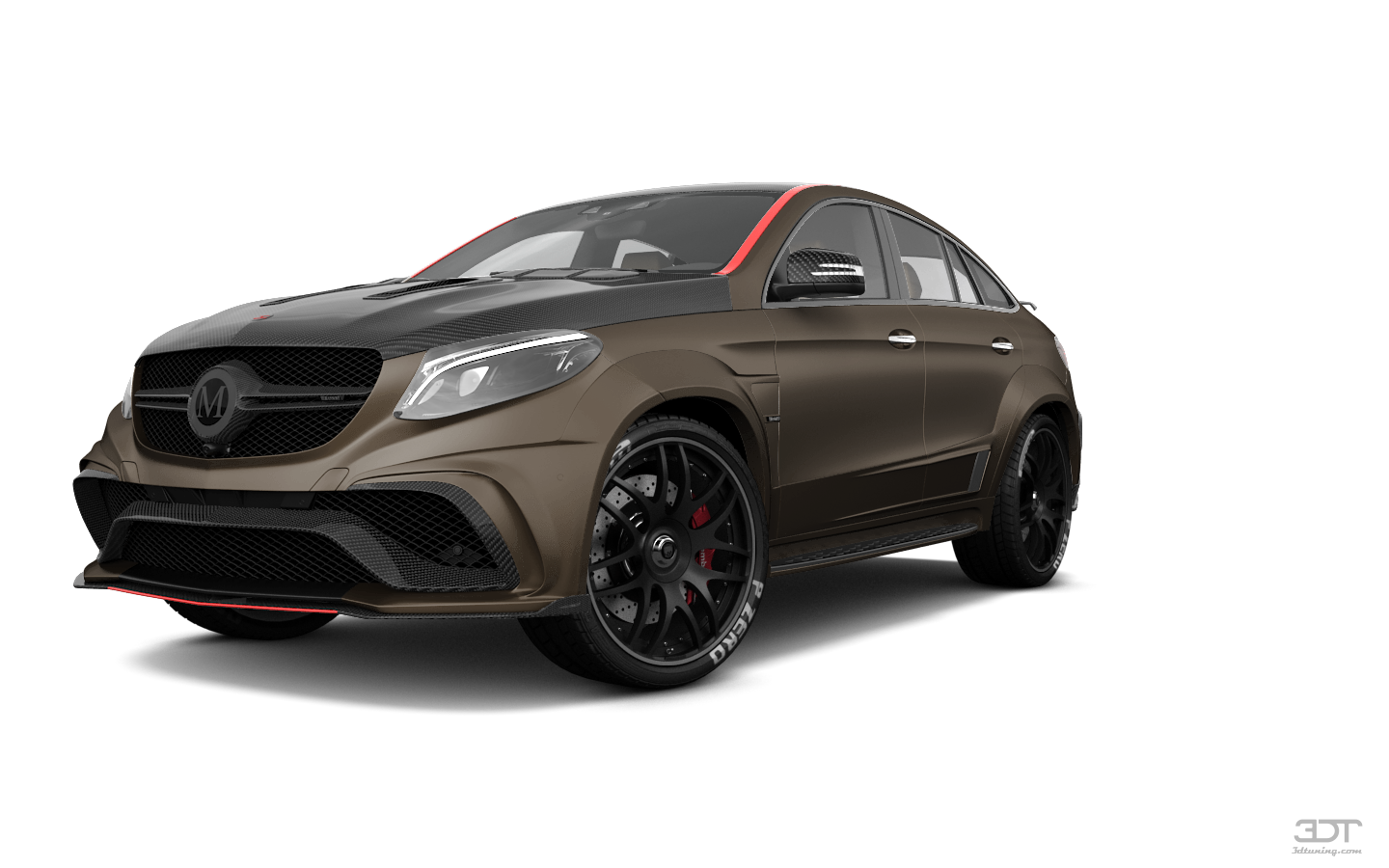 Mercedes GLE Coupe SUV 2016 tuning