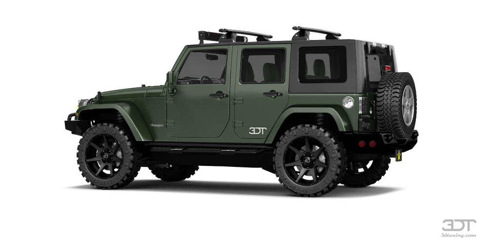 Jeep Wrangler Unlimited SUV 2008 tuning