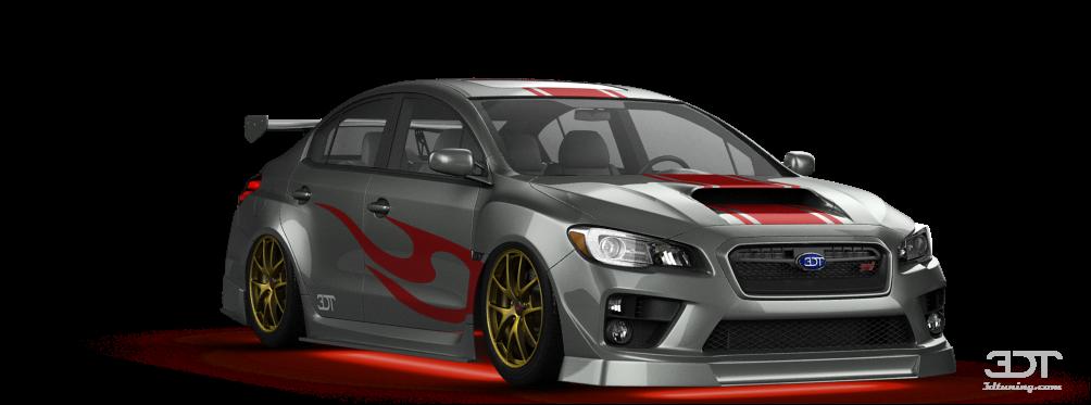 3dtuning Of Subaru Wrx Sti Sedan 2014 3dtuning Com