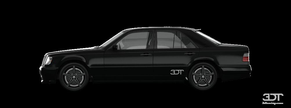 Mercedes E class Sedan 1984 tuning