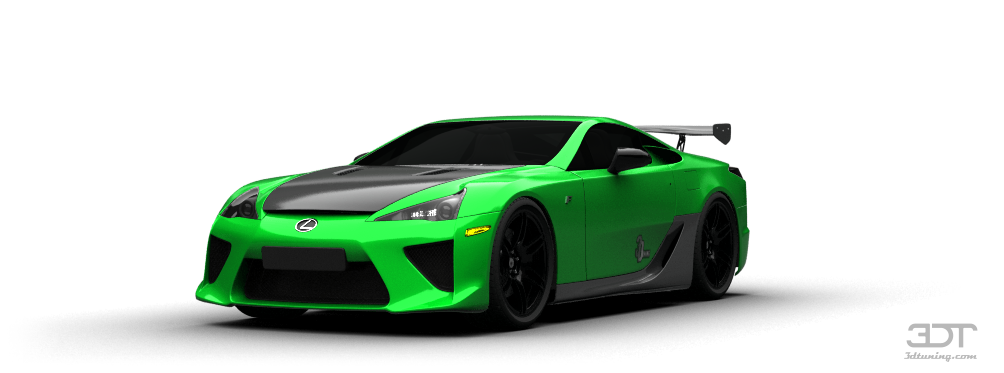 Exceptionnel ... Lexus LFA Coupe 2011 Tuning