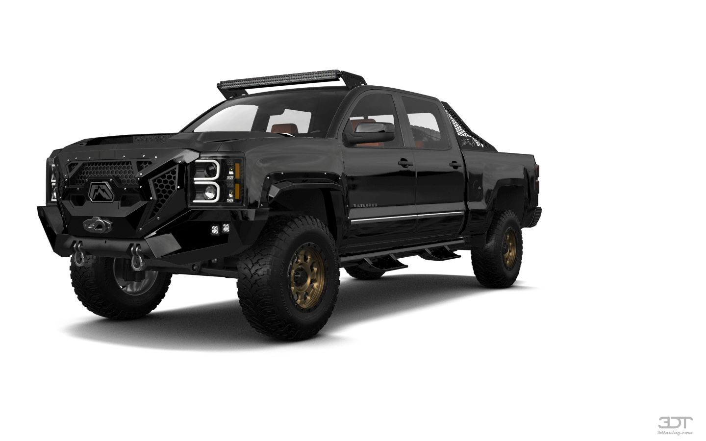 Chevrolet Silverado 2500 4 Door pickup truck 2015 tuning