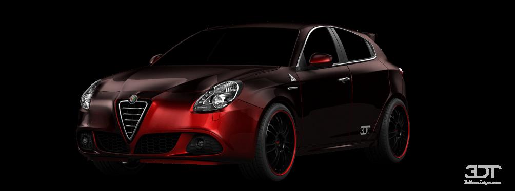 Alfa Romeo Giulietta 5 Door Hatchback 2011 tuning