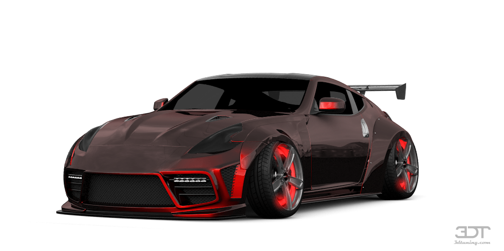 3DTuning of Nissan 370Z Coupe 2015 3DTuning.com - unique on-line car configurator for more than ...