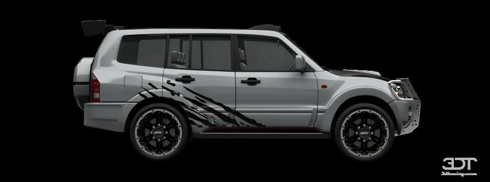 3dtuning Of Mitsubishi Pajero Suv 2005 3dtuning Com