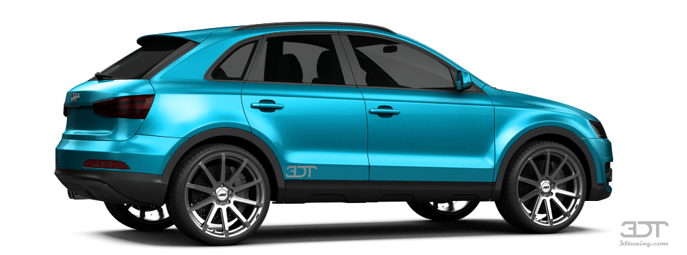 3dtuning Of Audi Q3 Crossover 2012 3dtuning Com Unique