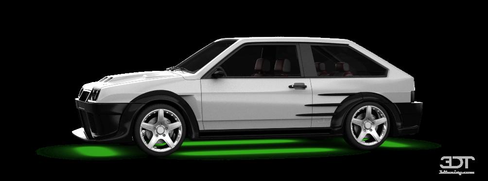 Lada 2108 3 Door Hatchback 2004 tuning