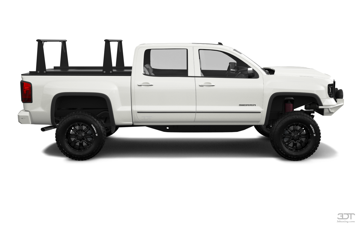 GMC Sierra 4 Door pickup truck 2014 tuning