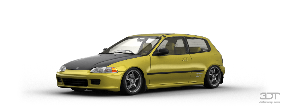Honda Civic 3 Door Hatchback 1992 tuning