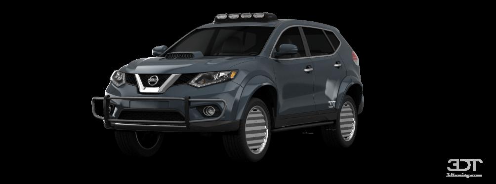 Nissan Rogue SUV 2014 tuning