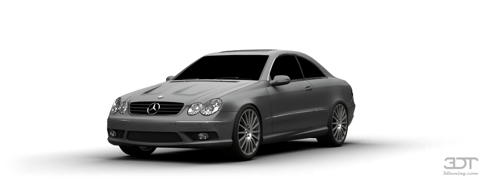 Mercedes CLK Coupe 2004 tuning