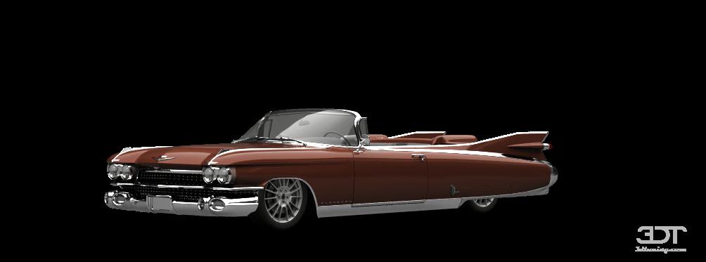 Cadillac Eldorado Convertible sedan 1959 tuning