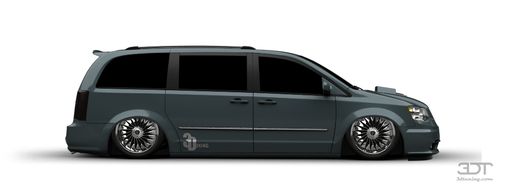 3dtuning Of Chrysler Town And Country Minivan 2007