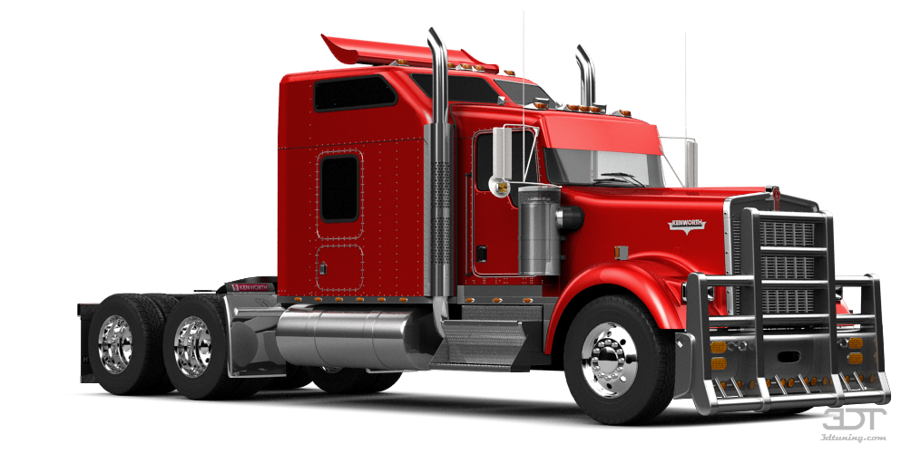 Kenworth W900 Sleeper Cab Truck 2014 tuning