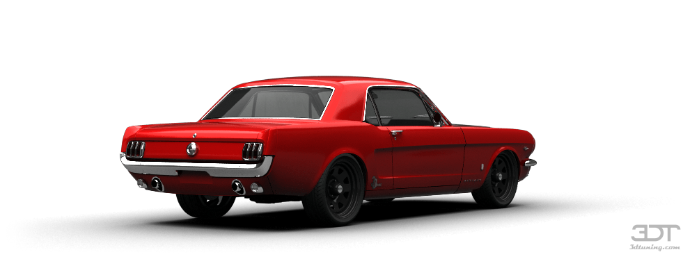 Mustang GT Coupe 1965 tuning
