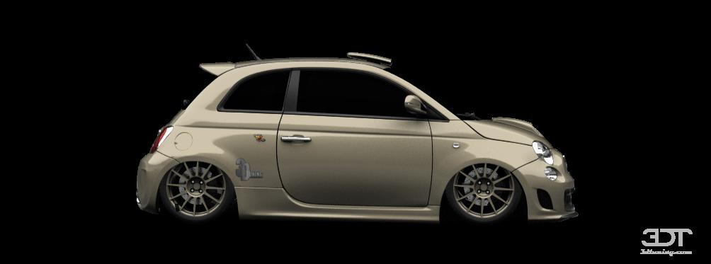 3dtuning Of Fiat 500 Abarth 3 Door 2010 3dtuning Com