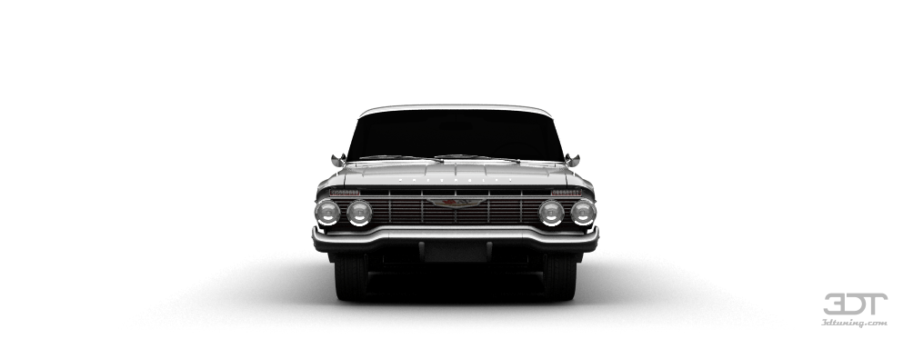 3dtuning Of Chevrolet Impala Coupe 1961 3dtuning Com