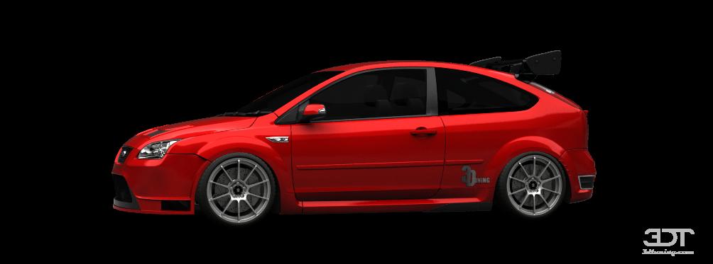 3DTuning of Ford Focus ST 3 Door Hatchback 2007 3DTuning ...