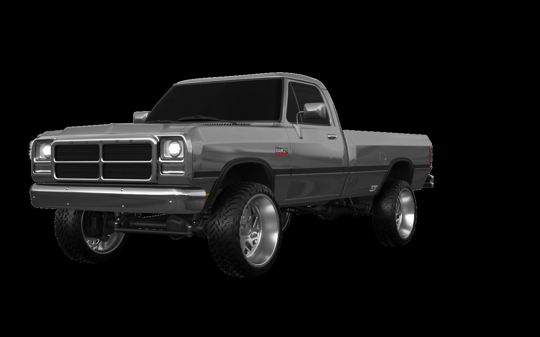 Dodge Ram 2 Door pickup truck 1991 tuning