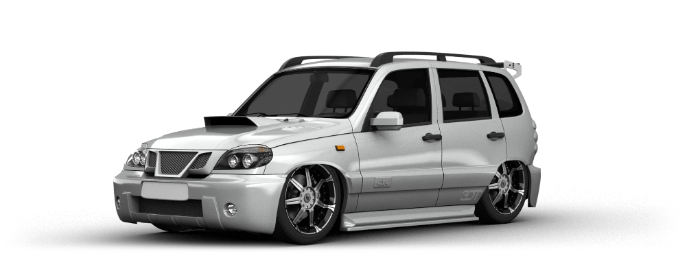Chevrolet Niva SUV 2009 tuning