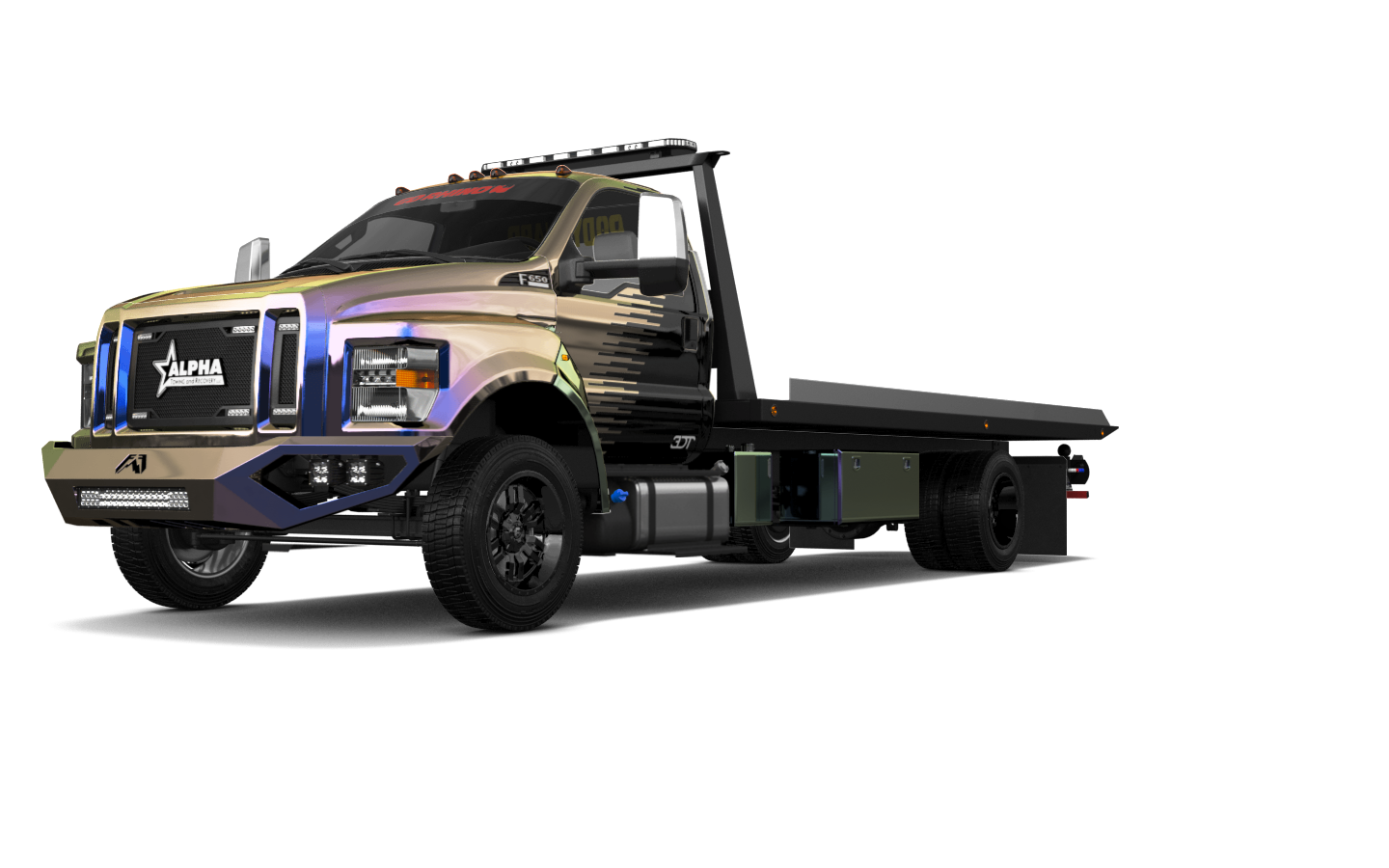 Ford F-650 Tow Truck Pickup 2016 tuning