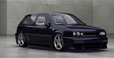 TWIN Volkswagen Golf 3