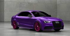 Тюнинг Audi A5 Coupe purple