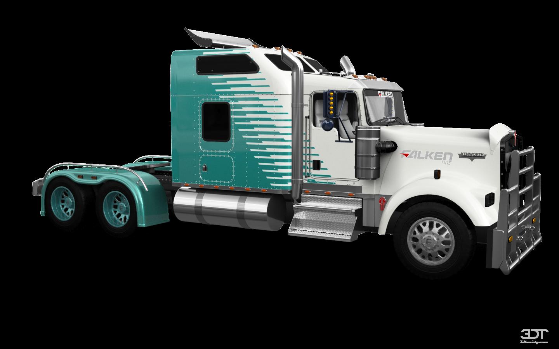 Kenworth W900 Sleeper Cab Truck 2015 tuning