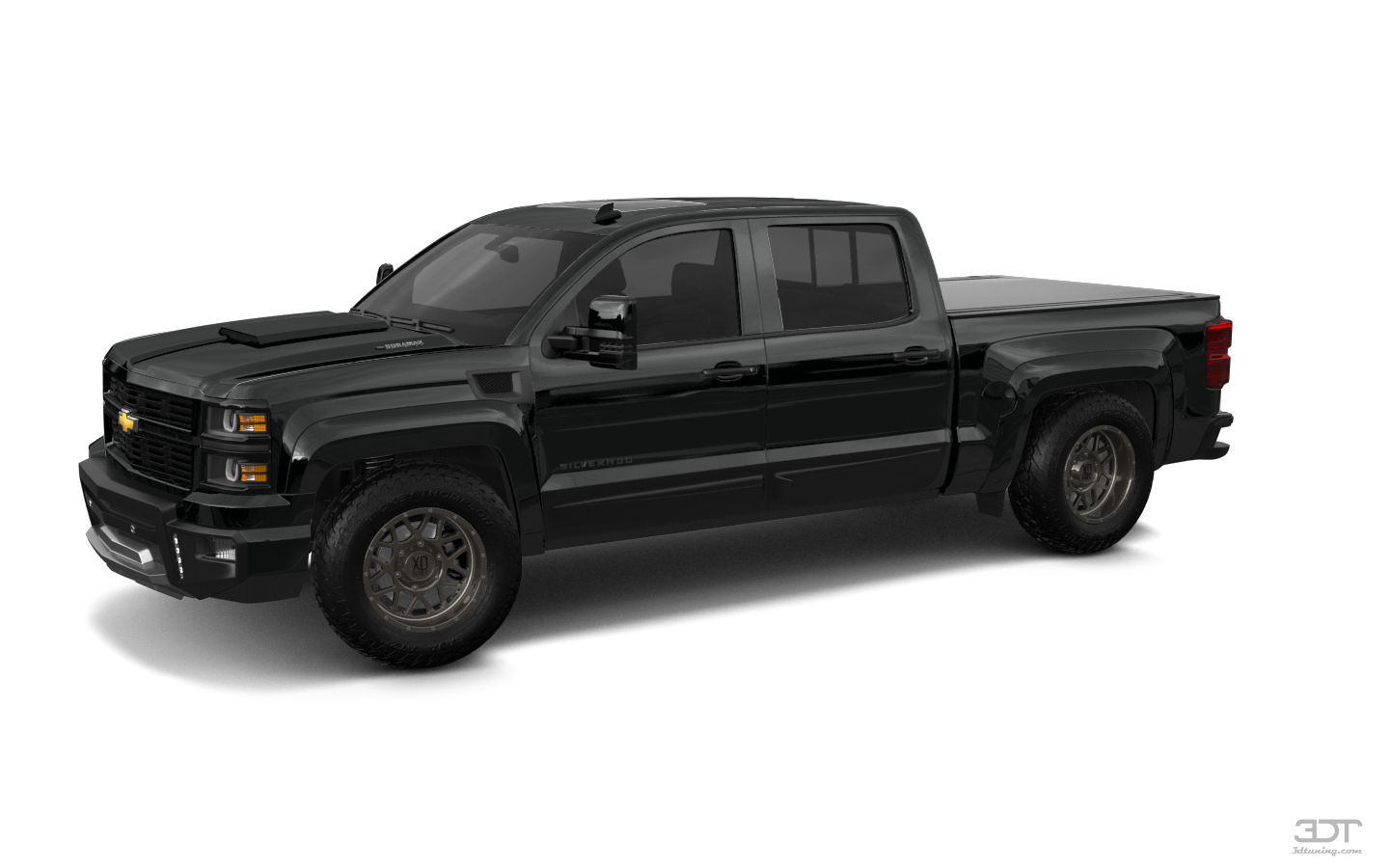 Chevrolet Silverado 1500 4 Door pickup truck 2014 tuning