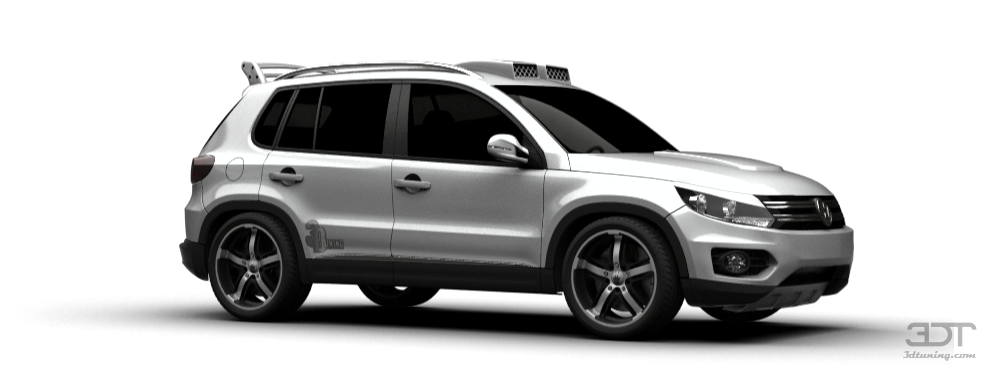 Volkswagen Tiguan Crossover 2012 tuning Volkswagen Tiguan