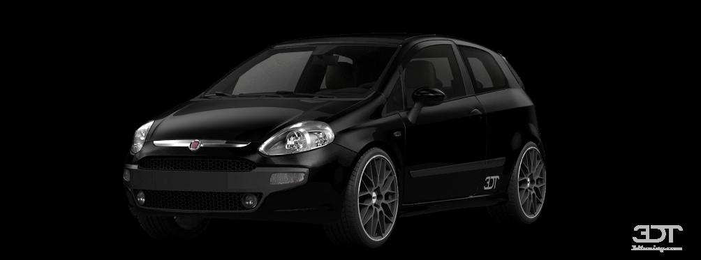 Fiat Punto Evo 3 Door 2010 tuning