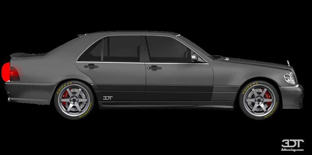 Mercedes S Class (W140) Sedan 1992 tuning