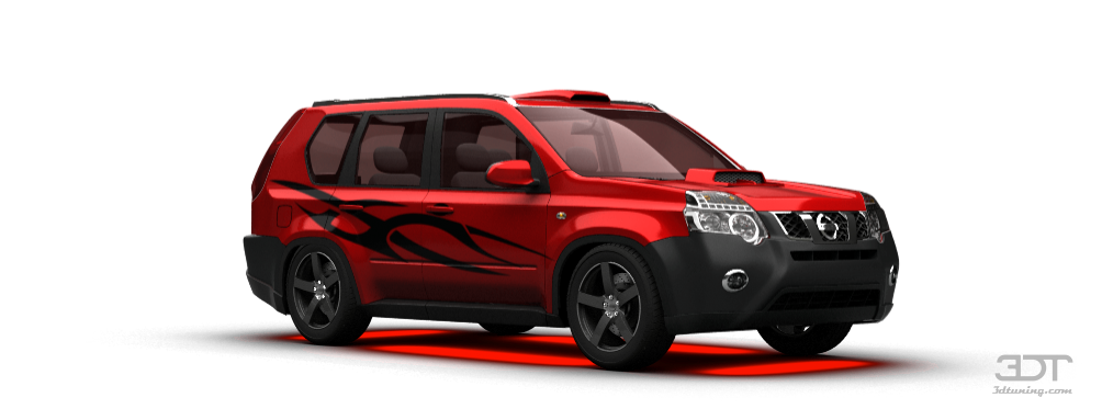 Nissan Used Parts 3DTuning of Nissan X-Trail SUV 2011 3DTuning.com - unique ...