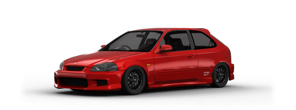 Honda Civic Type-R 3 Door 1997 tuning
