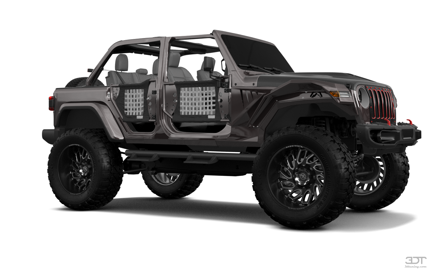 Jeep Wrangler Rubicon (JL) 4 Door SUV 2018 tuning