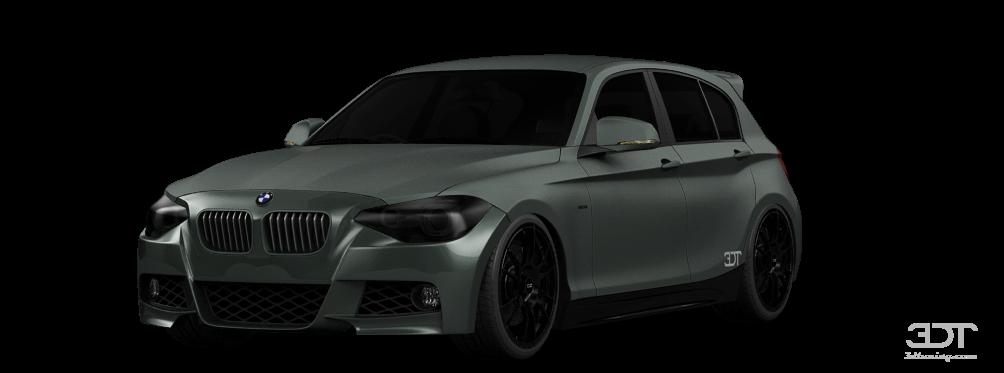 BMW 1 series 5 Door Hatchback 2011 tuning