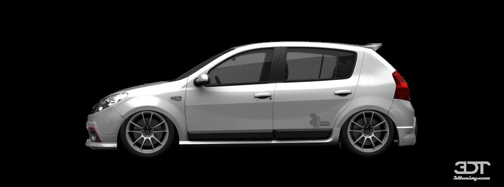 3dtuning Of Renault Sandero 5 Door Hatchback 2011 3dtuning