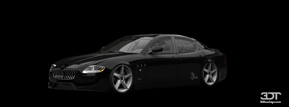 Maserati Quattroporte Sedan 2009 tuning