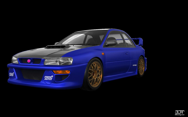 Subaru Impreza WRX STI 22B 2 Door Coupe 2000 tuning