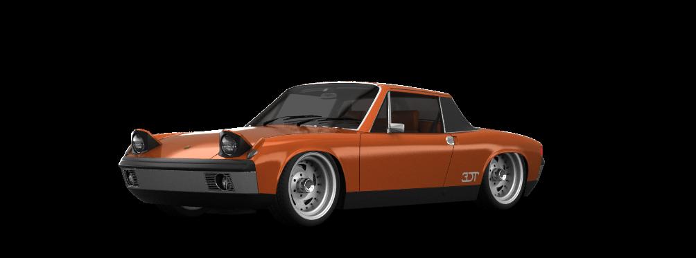 Porsche 914-6 Coupe 1970 tuning