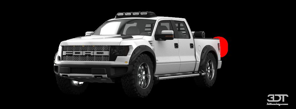 F150 Custom Parts >> 3DTuning of Ford F-150 SVT Raptor SuperCrew Truck 2013 ...