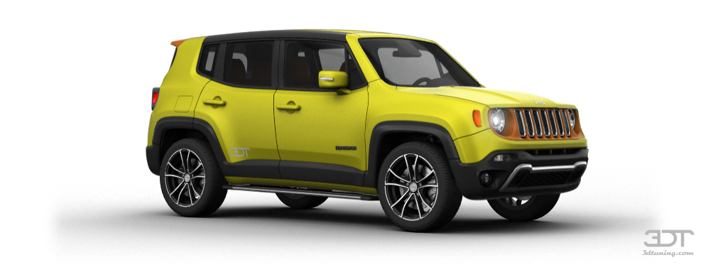 Jeep D 3DTuning of Jeep Renegade SUV 2015 3DTuning.com - unique ...