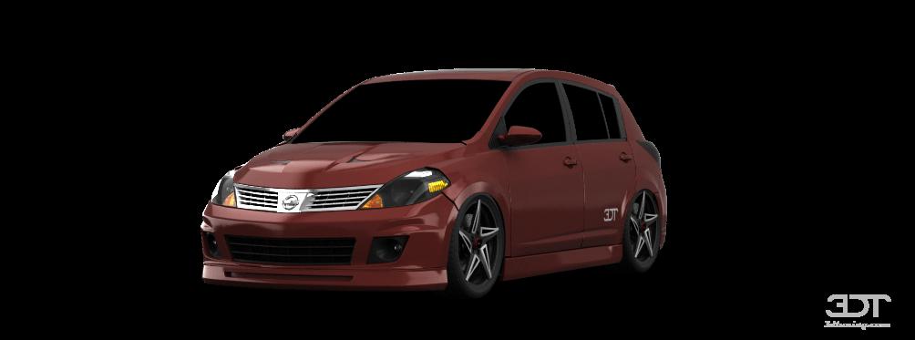 Nissan Versa SL 5 Door Hatchback 2009 tuning