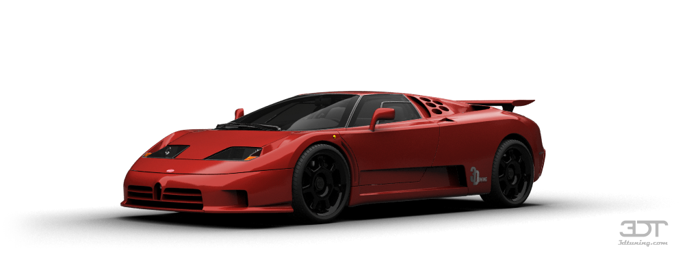 Bugatti EB110 Coupe 1992 tuning
