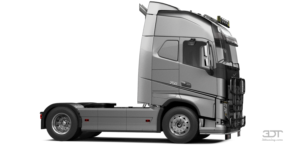 Volvo FH16 Globetrotter XL Cab Truck 2013 tuning