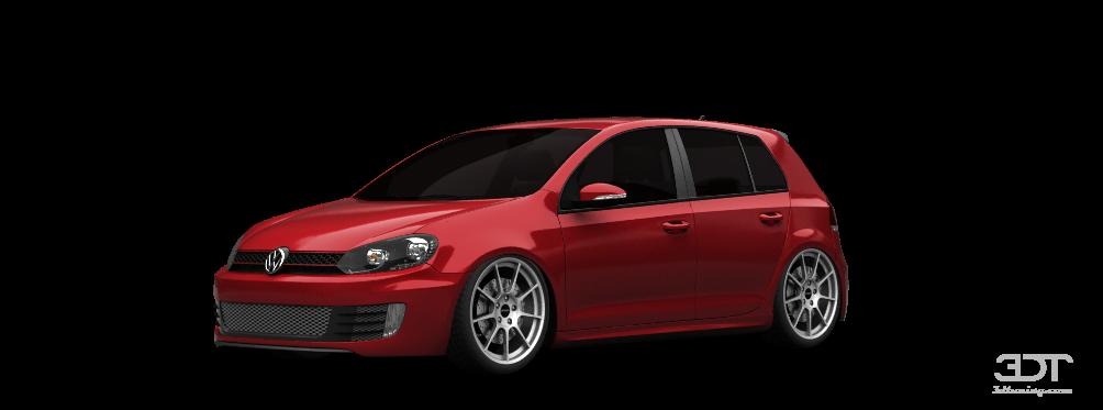 Volkswagen Golf 6 5 Door Hatchback 2011 tuning