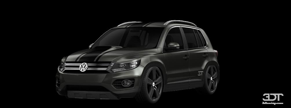 3dtuning Of Volkswagen Tiguan Crossover 2012 3dtuning Com