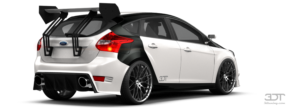 3dtuning Of Ford Focus 5 Door Hatchback 2012 3dtuning Com
