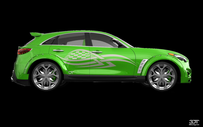 Infiniti FX50 SUV 2009 tuning